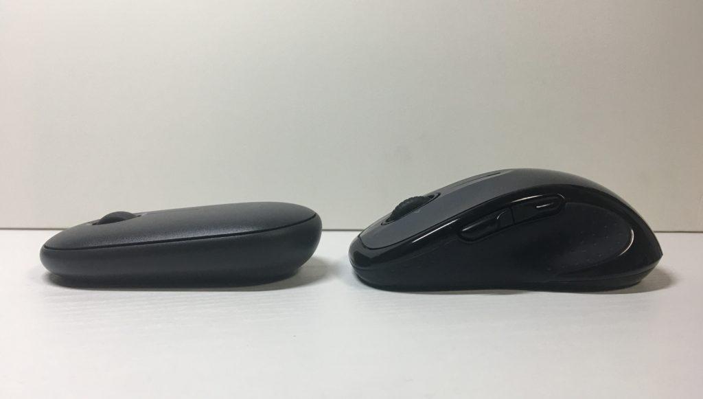 Logicool Pebble M350 とM510比較