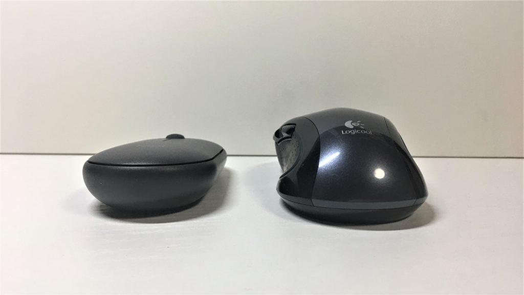 Logicool Pebble M350とM510の比較