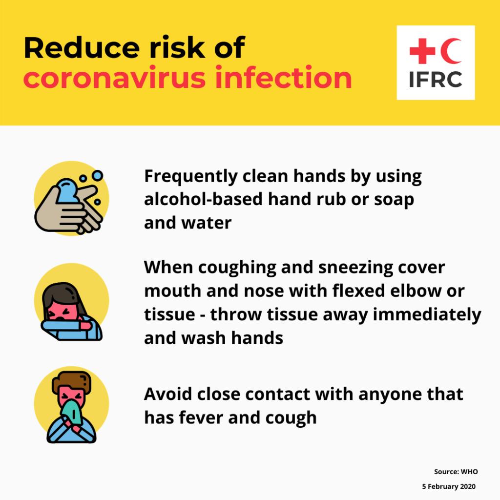 赤十字インフォグラフィック コロナ対策