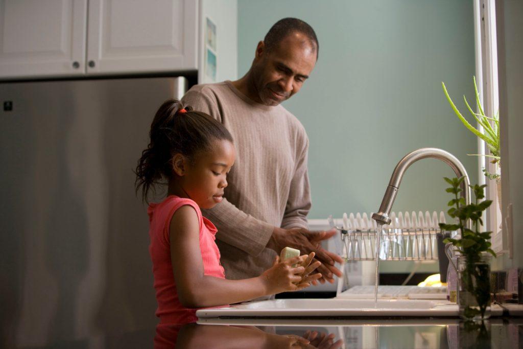 家庭でできる新型コロナウイルス対策衛生手洗い